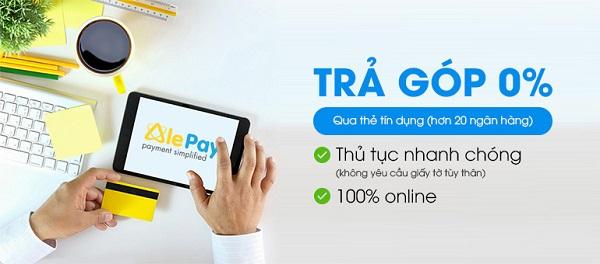 Hướng dẫn mua hàng trả góp 0% qua thẻ tín dụng tại Viettel Đà Nẵng