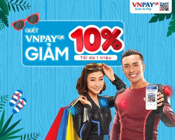 Giảm ngay 10% trên mỗi hóa đơn khi thanh toán bằng VNPAY-QR tại Viettel Đà Nẵng