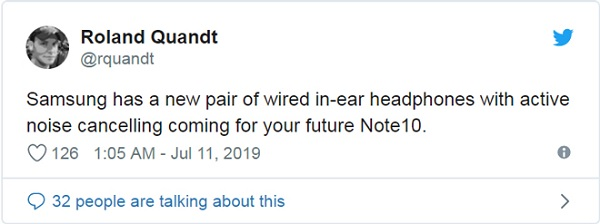 Tin đồn thổi về Galaxy Note 10