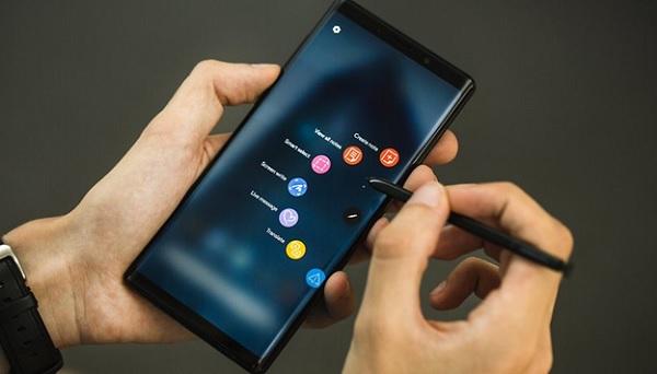 Chia sẻ cách chụp ảnh màn hình Note 10 và Note 10+ đơn giản