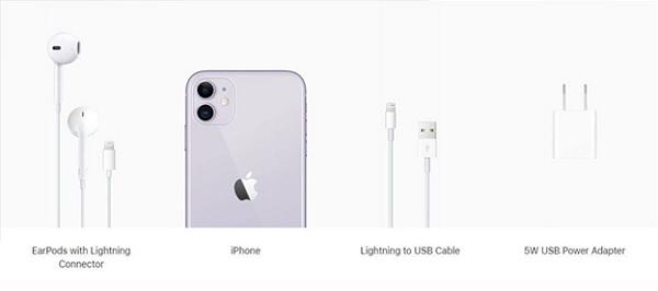 iPhone 11 không được hỗ trợ sạc nhanh 18W