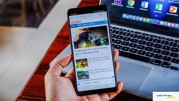 """Galaxy A8 Star và những cái nhất khiến giới trẻ """"sống ảo"""" phải chao đảo"""