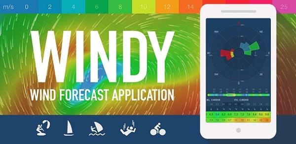 Cách sử dụng ứng dụng Windy dự báo bão chuẩn xác nhất trên Android