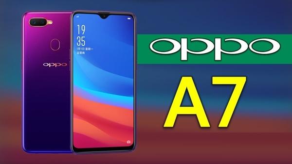 những thông tin mới nhất về Oppo A7 2018