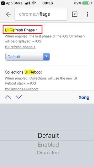 Cách đổi giao diện Chrome trên iPhone cực kỳ đẹp mắt