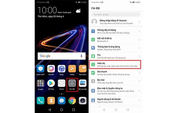 Mách bạn cách tắt tai thỏ trên Huawei Nova 3e trong 2 bước