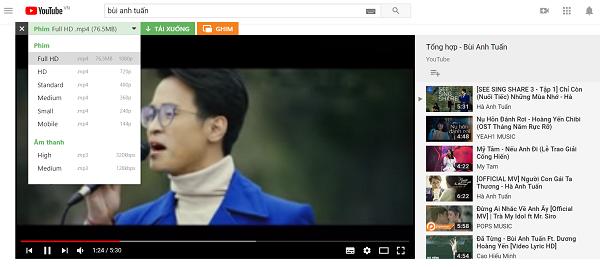 Dùng Cốc Cốc là cáchtải Audio trên Youtube nhanh nhất
