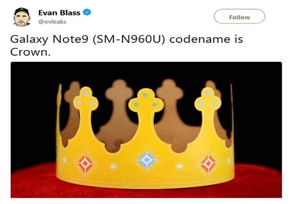 thông tin cần biết về Galaxy Note 9 1