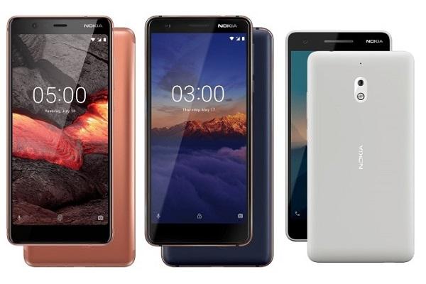 Cùng đánh giá cấu hình nokia 3.1, Nokia 2.1 và Nokia 5.1 mới trình làng