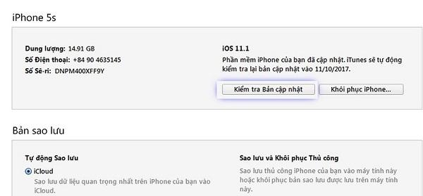 Cách hạ cấp iOS 12 beta xuống iOS 11 đơn giản