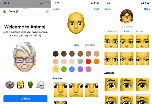 Cách sử dụng tính năng Memoji – trò mới trên iOS 12