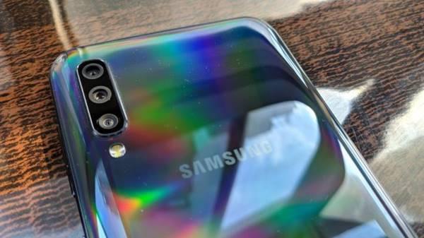 bộ ba camera Galaxy A50