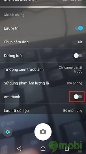 Cách tắt âm chụp ảnh trên Xperia XZs đơn giản và dễ thực hiện