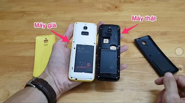 Cách phân biệt điện thoại Nokia 8810 giả đang được bày bán tràn lan trên thị trường