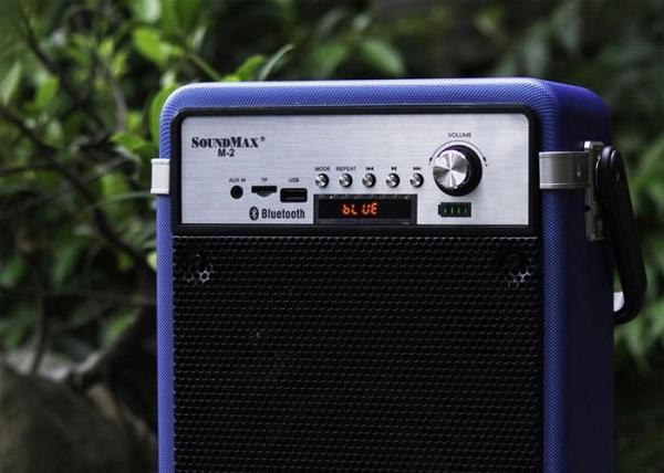 Đánh giá loa Soundmax M2: nhỏ gọn, kết nối được nhiều thiết bị, âm thanh sống động