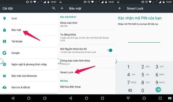 Khám phá cách sử dụng smart lock trên Android cực tiện lợi