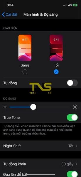 Hướng dẫn cách bật Dark mode trên iOS 13