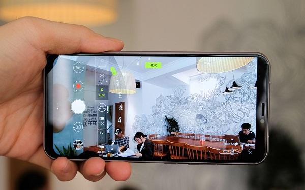 Đánh giá camera Asus Zenfone 5 2018, sức mạnh đến từ camera góc rộng