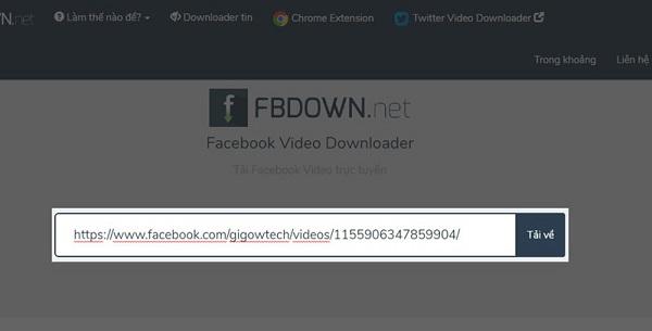 Bạn có thể tải video Facebook chất lượng caothông qua rất nhiều trang web khác nhau