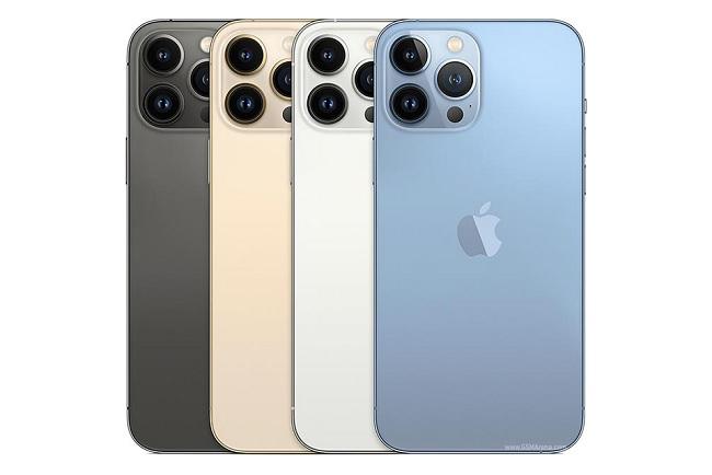 Các tùy chọn màu sắc của iPhone 13 Pro Max