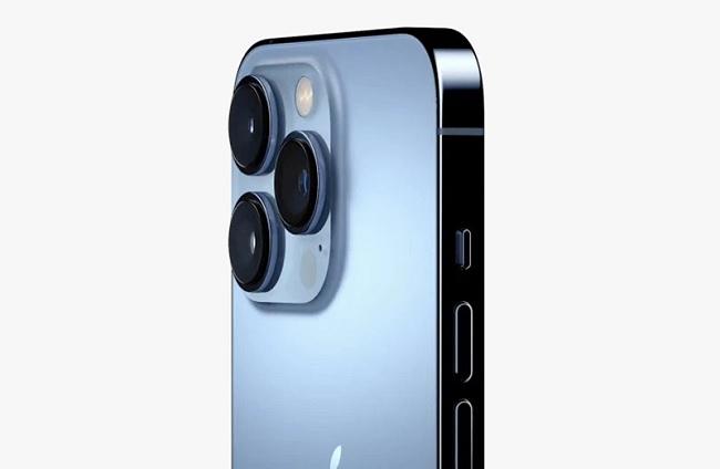 Camera sau trên iPhone 13 Pro Max