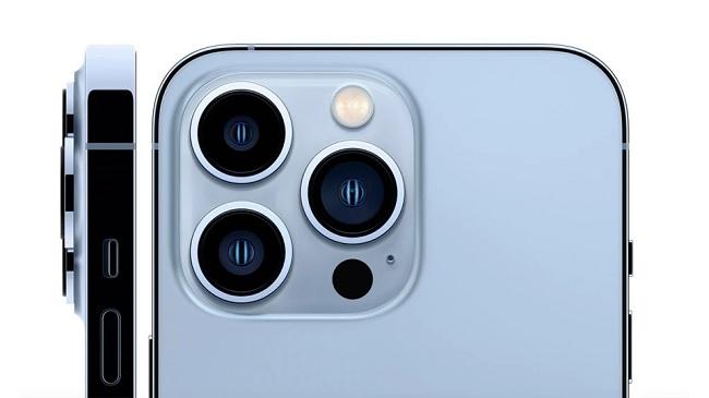 Hệ thống camera sau trên iPhone 13 Pro