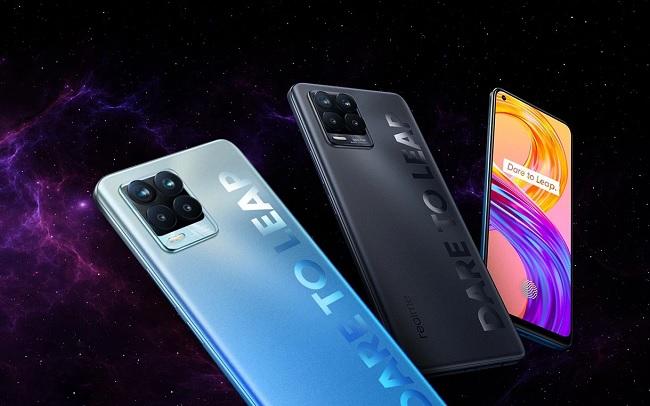 Các phiên bản màu sắc của Realme 8 Pro