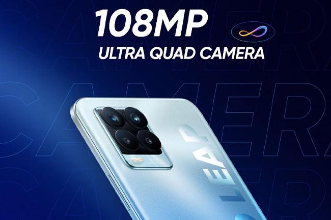 Realme 8 Pro được trang bị camera 108MP