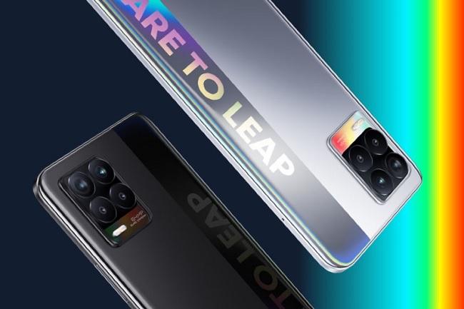 Các góc cạnh của Realme 8 có  độ hoàn thiện cao