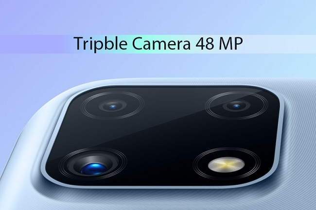 Cận cảnh camera sau trên Realme C25