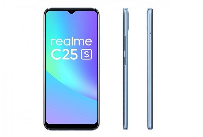 Realme C25s chạy chip MediaTek G85