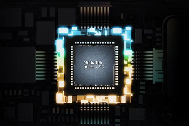 Chip Helio G85 trang bị cho Realme Narzo 30A