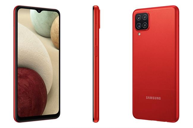Cảm biến vân tay của Samsung Galaxy A12 được đặt ở cạnh bên