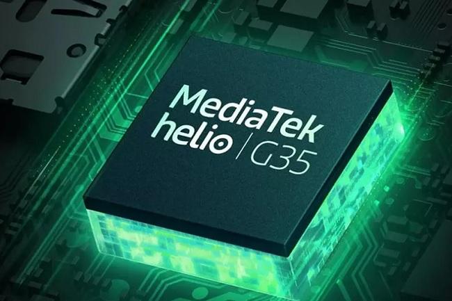 Galaxy A12 chạy chip Helio G35