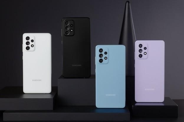 Galaxy A52 đa sắc màu