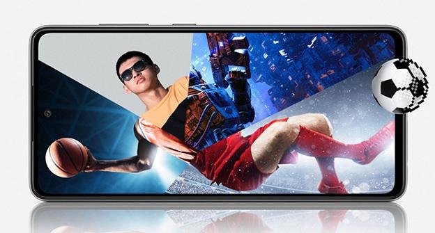 Chơi game cực đã trên Galaxy A52