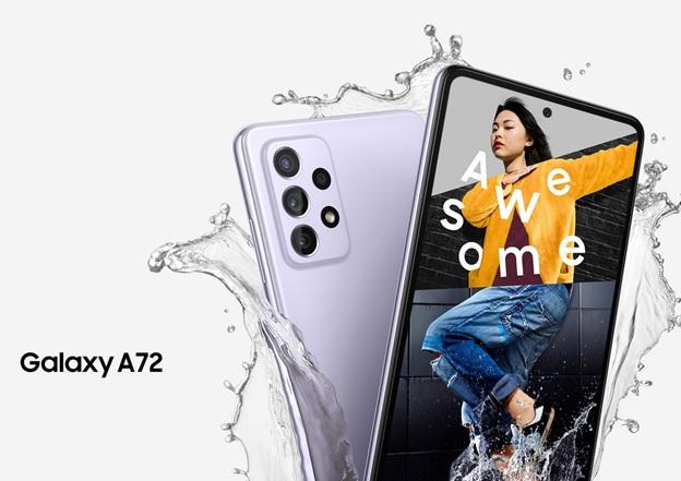 Galaxy A72 chống nước đạt chuẩn IP67