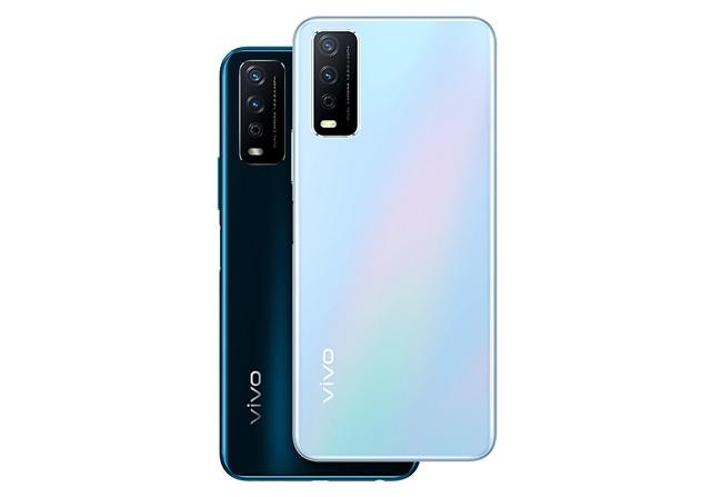Hai tùy chọn màu sắc của Vivo Y12s 2021