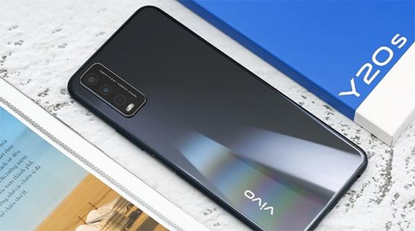 vivo Y20s thiết kế màn hình tràn viền và camera chứa trong notch giọt nước