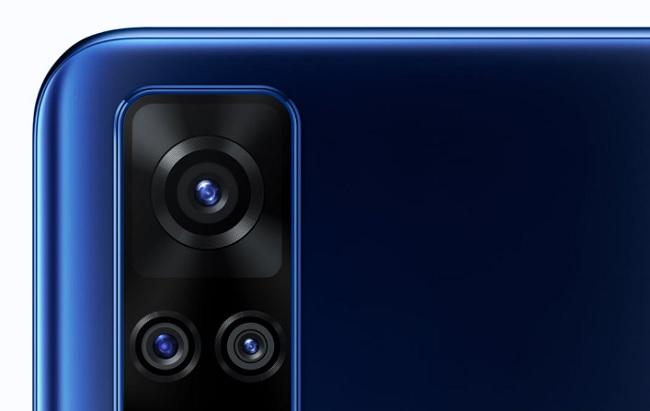 Cận cảnh cụm camera sau của Vivo Y51 2020