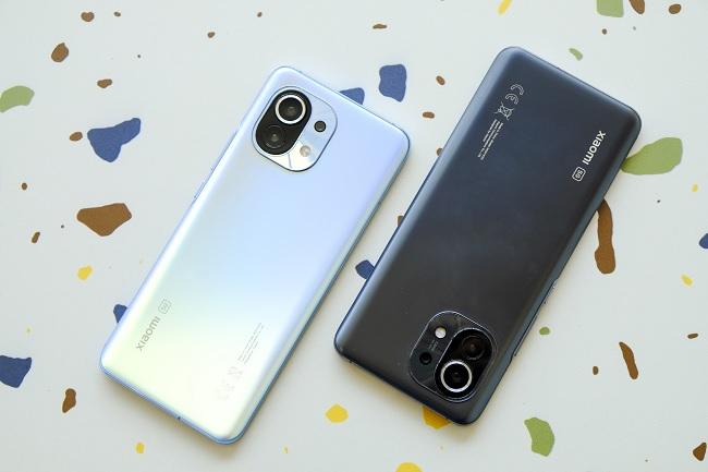 Các phiên bản màu sắc của Xiaomi Mi 11 5G
