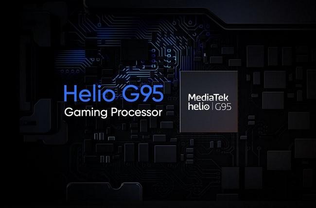 Chip Helio G95 cho hiệu suất tăng 31% so với thế hệ cũ