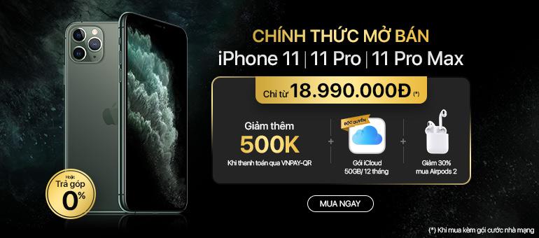 Đặt sớm iPhone 11