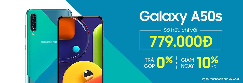 Đặt trước Samsung Galaxy A50s nhận quà khủng