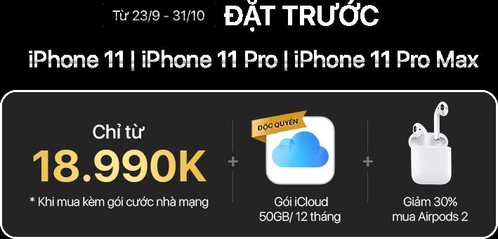 đặt trước iPhone 11