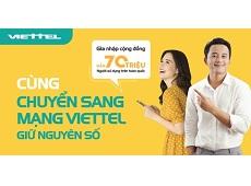 Tỉ lệ khách hàng gia nhập Viettel cao nhất trong 3 nhà mạng